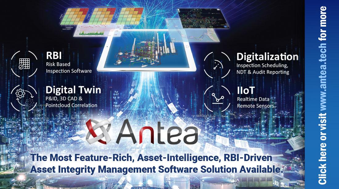 Antea Platform: Risk Based IDMS Software with 3D Digital Twin Integration (MI/AIM)